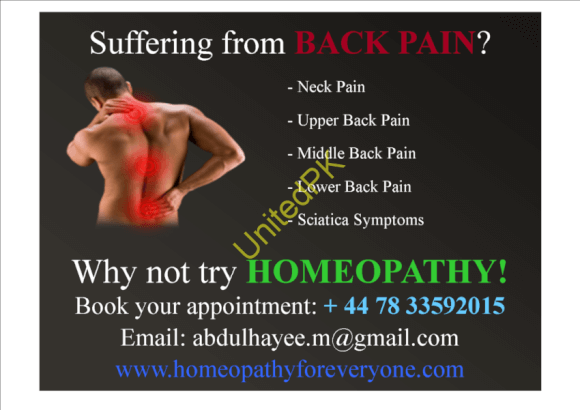 Suffering from Back Pain