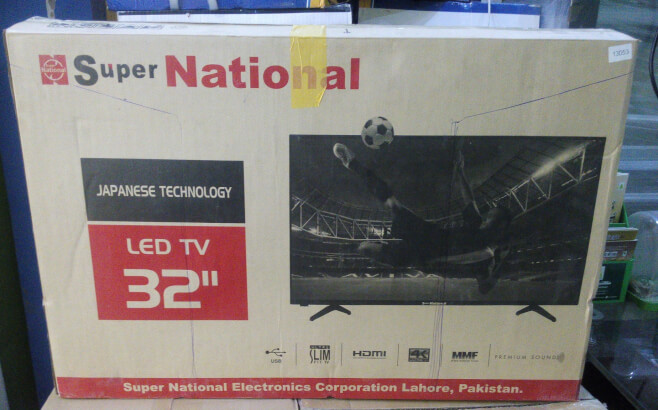LED TV By Super National