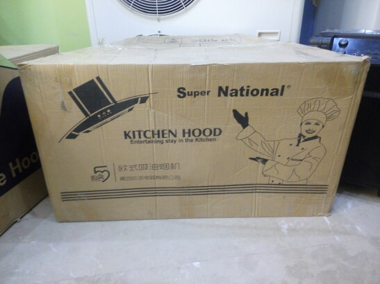 Kitchen Hood Ventilation system with Touch panel By Super National