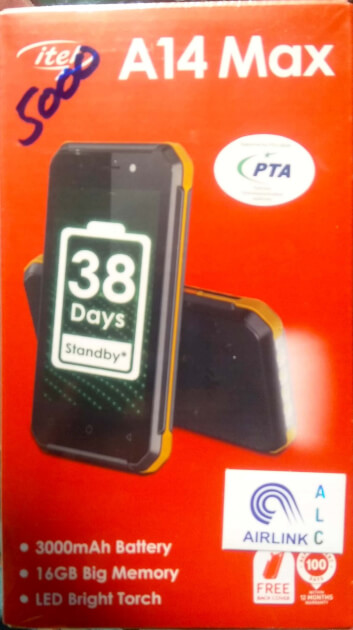 ITEL A14 Max Mobile Phone