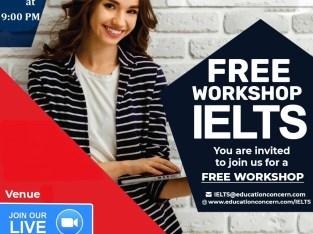 Free IELTS Trial Class / Workshop