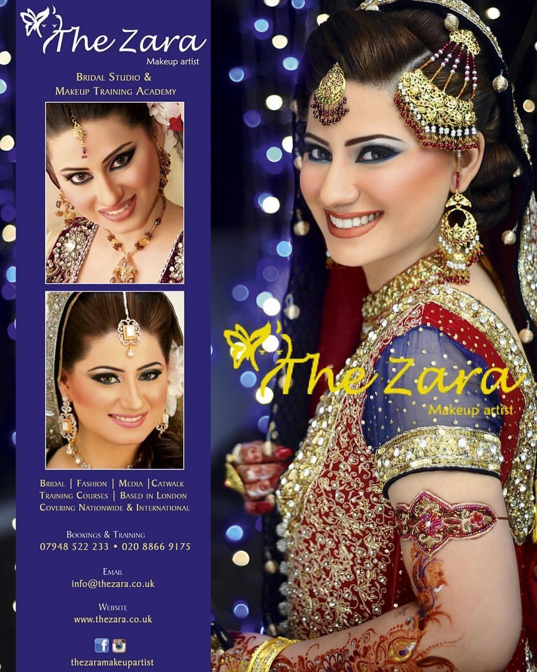 The Zara Bridal Makeup Artist – London's Best Asian Bridal Makeup Artist