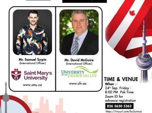 Free Seminar – Study in Canada