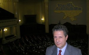 Dr Restivo at Ukrainian Parliament