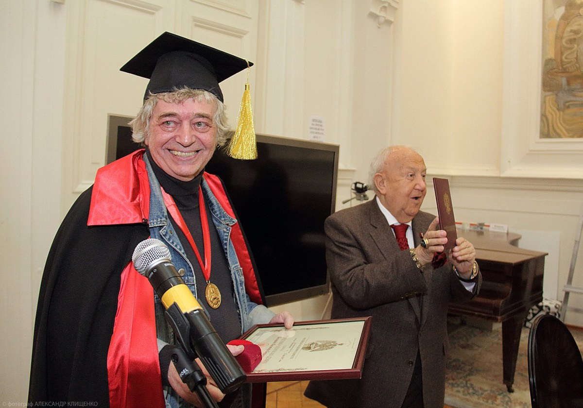 Victor Bogorad, the honorary member of Russian Academy of Arts