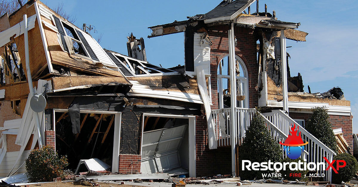 Emergency fire, soot and smoke damage restoration in McKinney, TX