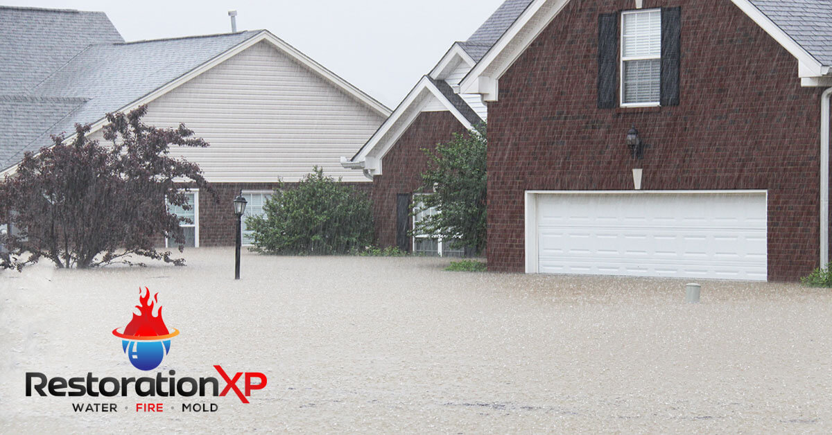 Emergency flood damage repair in Anna, TX