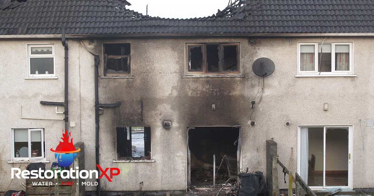 Emergency fire, soot and smoke damage restoration in Whitewright, TX
