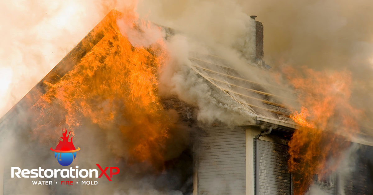 Emergency fire, soot and smoke damage cleanup in Denison, TX
