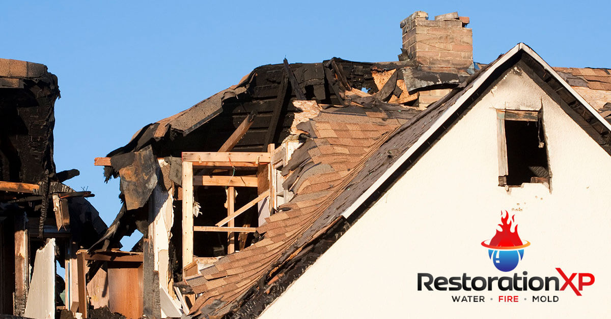 Emergency fire, soot and smoke damage restoration in Denison, TX