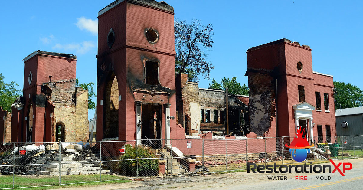 Emergency fire, soot and smoke damage cleanup in Allen, TX