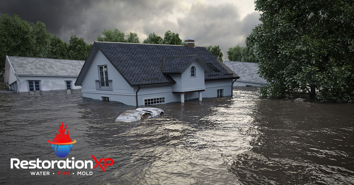 24/7 flood damage cleanup in Pottsboro, TX