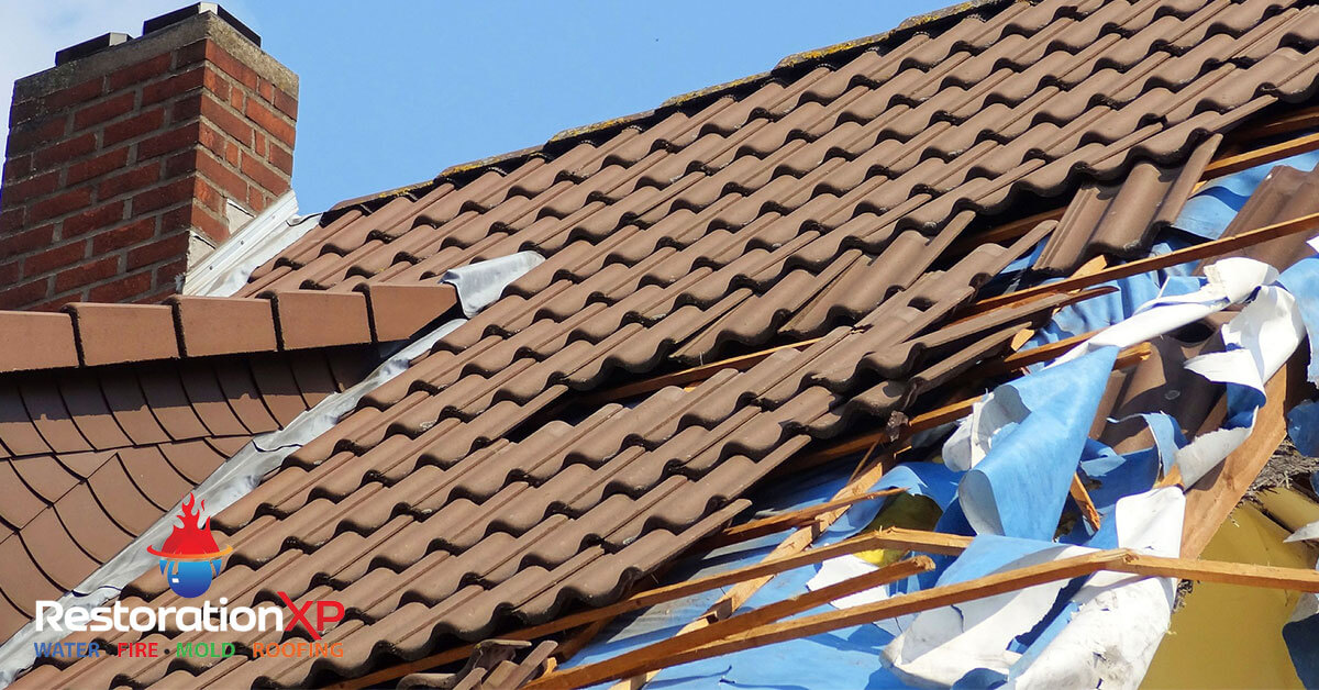 storm damage restoration in Sherman, TX