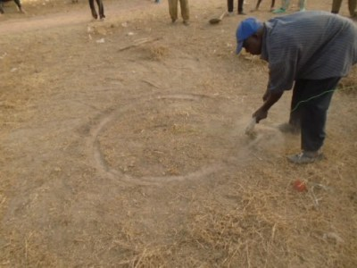 Lancement travaux puits Tiecoumala 1 (1)