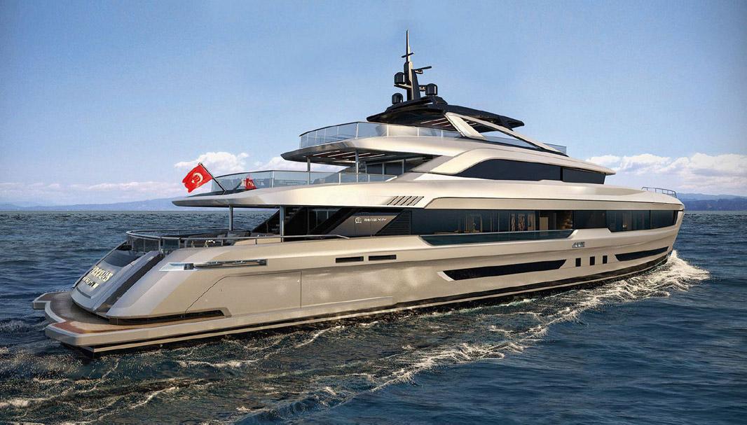 New Virtus 44M Super Yacht By Mengi Yay United