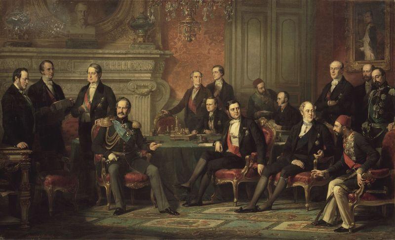 Imagini pentru congresul de pace de la paris 1856 photos