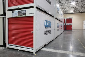Storage warehouse for storage containers in Concord