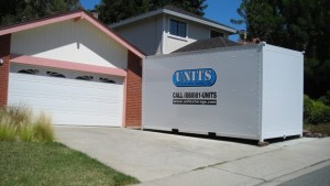 Portable Storage in a Driveway