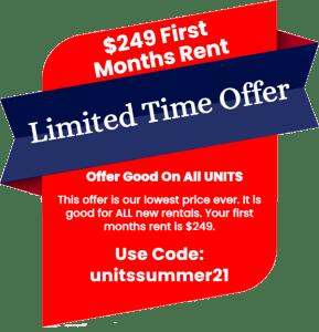UNITS Summer Offer