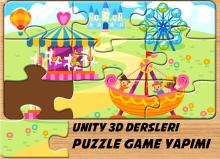 Unity 3d puzzle game yapımı