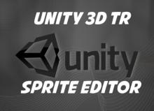 Unity 3d sprite editör