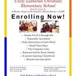 enrollment poster