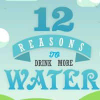 12 Reasons to Drink More Water (Infographic)