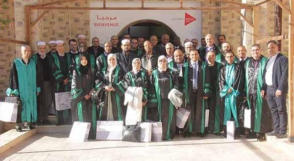 حفل تكريم مجموعة من أساتذة جامعة غرداية