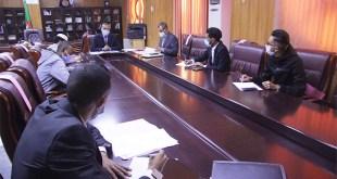 لقاء السيد مدير جامعة غرداية مع ممثلي الطلبة