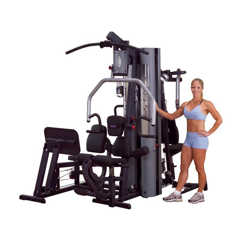Appareil De Musculation Home Gym Avec Presse G9S Body Solid