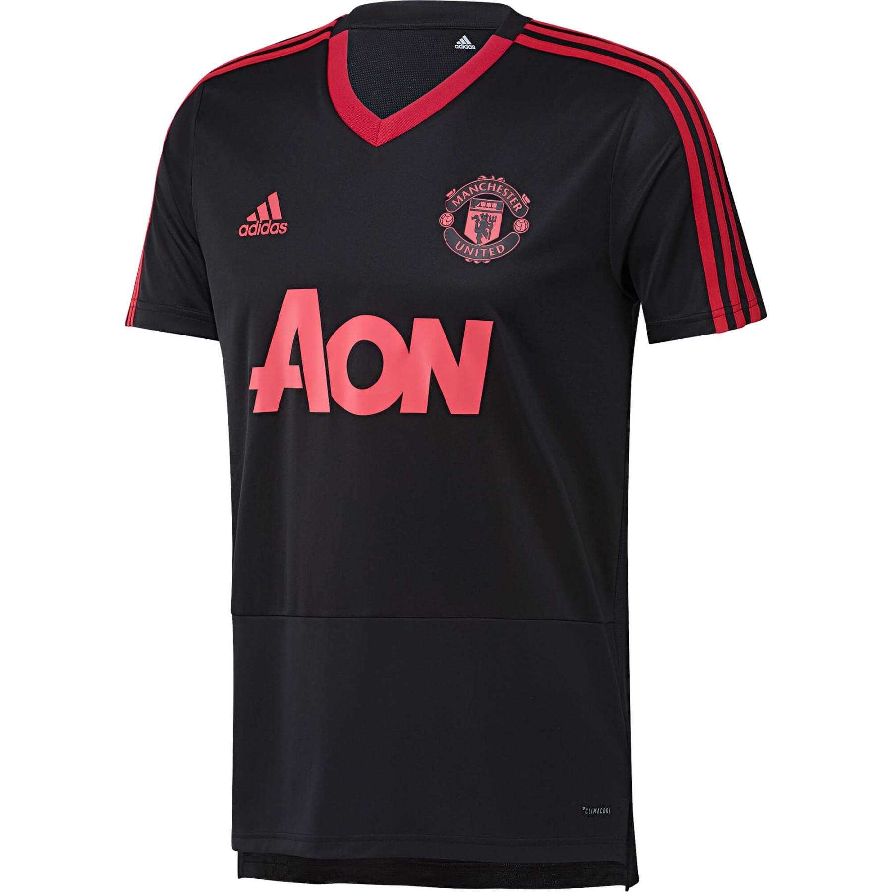 Adidas Manchester United Maillot Entrainement Noir 2018