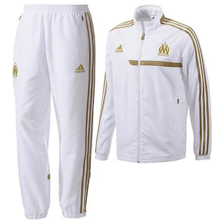 Adidas Om Survetement Blanc 2013 2014