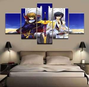 Décoration murale Code Geass Suzaku X Lelouch