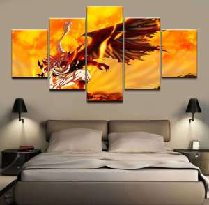 Décoration murale Fairy Tail Natsu Dragon