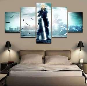 Décoration murale Final Fantasy 7 Cloud Advent Chidren