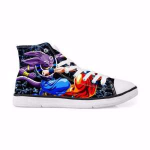 Chaussures Baskets Dragon ball Super Beerus Fight