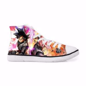 Chaussures Baskets Dragon ball Super Black Forms