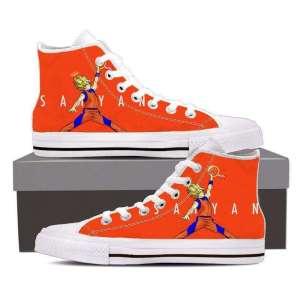Chaussures Baskets Dragon ball Z Goku Saiyan