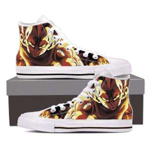 Chaussures Baskets Dragon ball Z Majin Vegeta