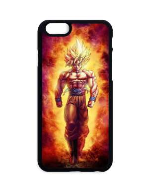 Coque Dragon Ball Z Goku Super Saiyan Fire