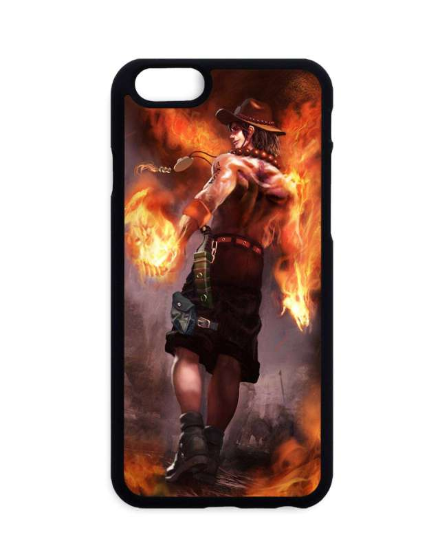 Coque One Piece Ace Fire
