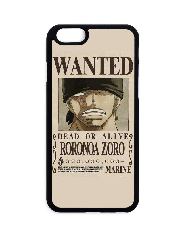 Coque One Piece Zoro Wanted