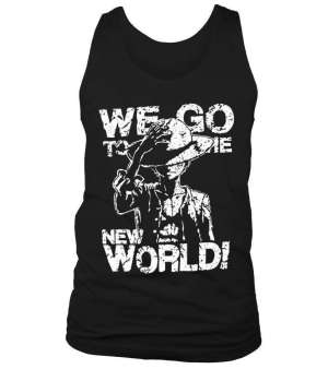 Débardeur One Piece We Go To The New World