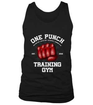 Débardeur One Punch Man Training Gym