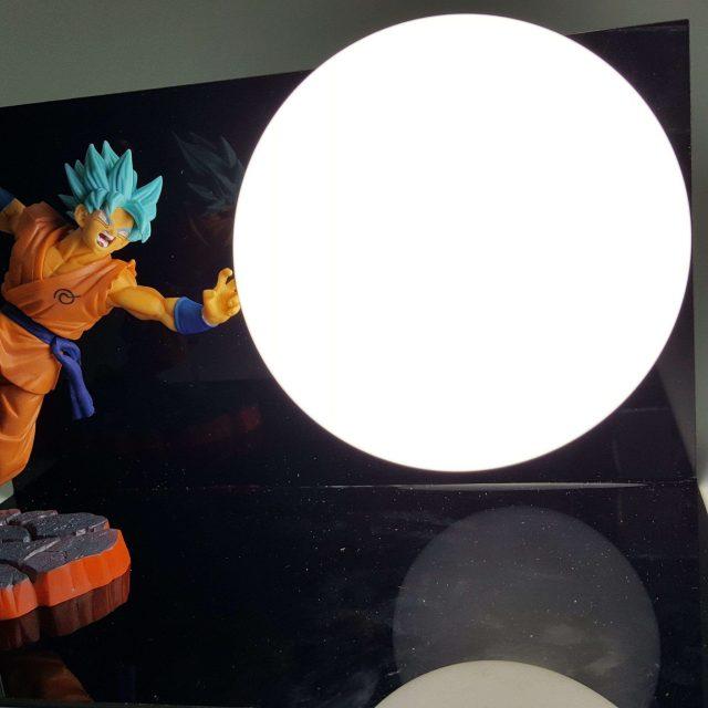 Lampe Dragon Ball Super Goku SSJ Blue