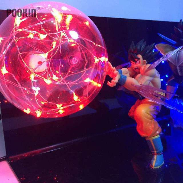 Lampe Dragon Ball Z Goku X Vegeta