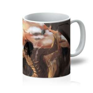 Mug Attack On Titans Eren Vs Annie