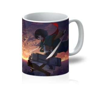 Mug Attack On Titans Mikasa Ackerman