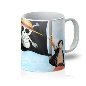 Mug One Piece Luffy Flag