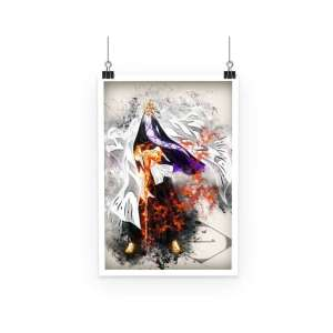 Poster Bleach Captain Yamamoto